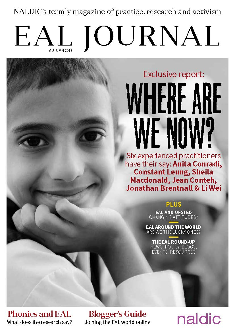 EAL Journal issue 1 cover