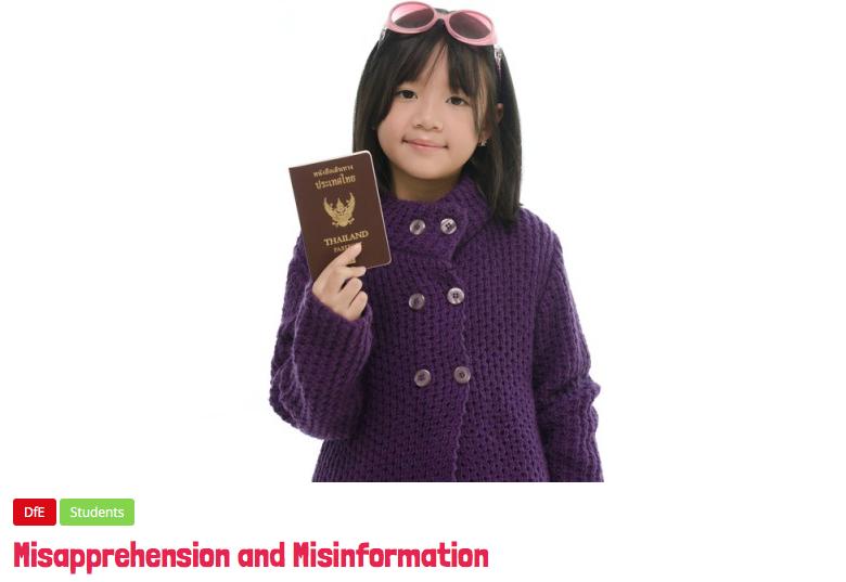 Misapprehension and Misinformation —@TeacherToolkit