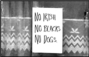 no irish